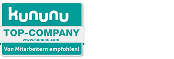 Awarded as one of the 10 best employers in Berlin <p><strong>kununu</p></strong>